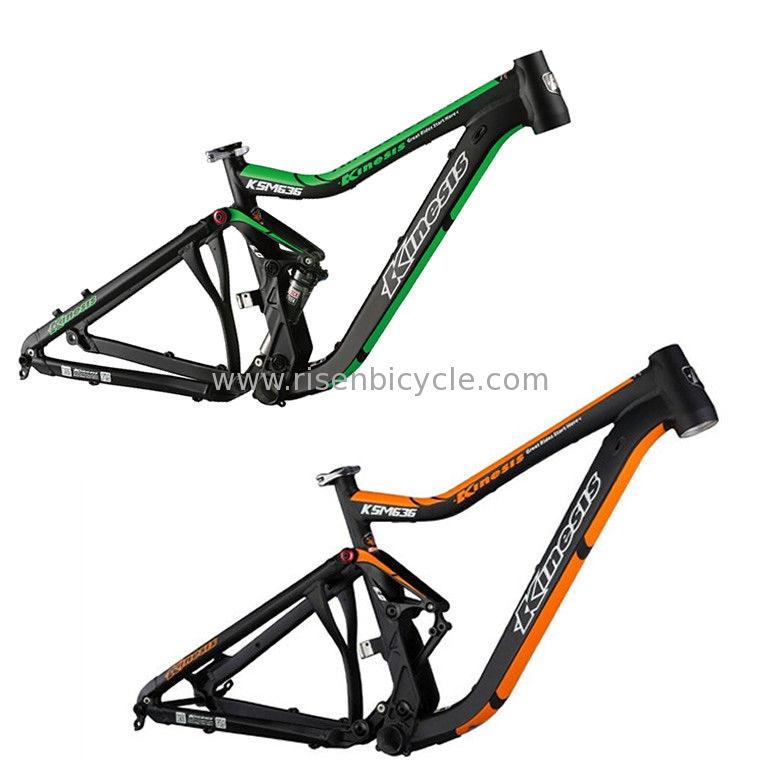 des Vollfederungs-Mountainbike-Spants 153MM 26er Am/Enduro Rahmen ...